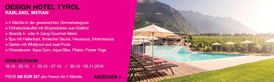 Lifestylehotels bietet ihnen auch in brixen im vinschgau for Design hotel brixen