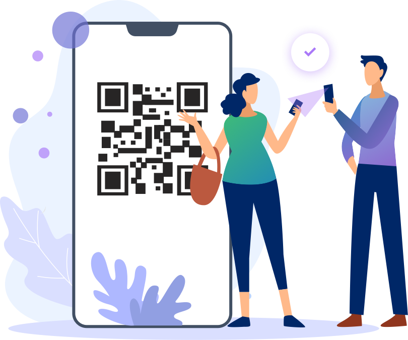 Illustration Mobile Ticketing and Events