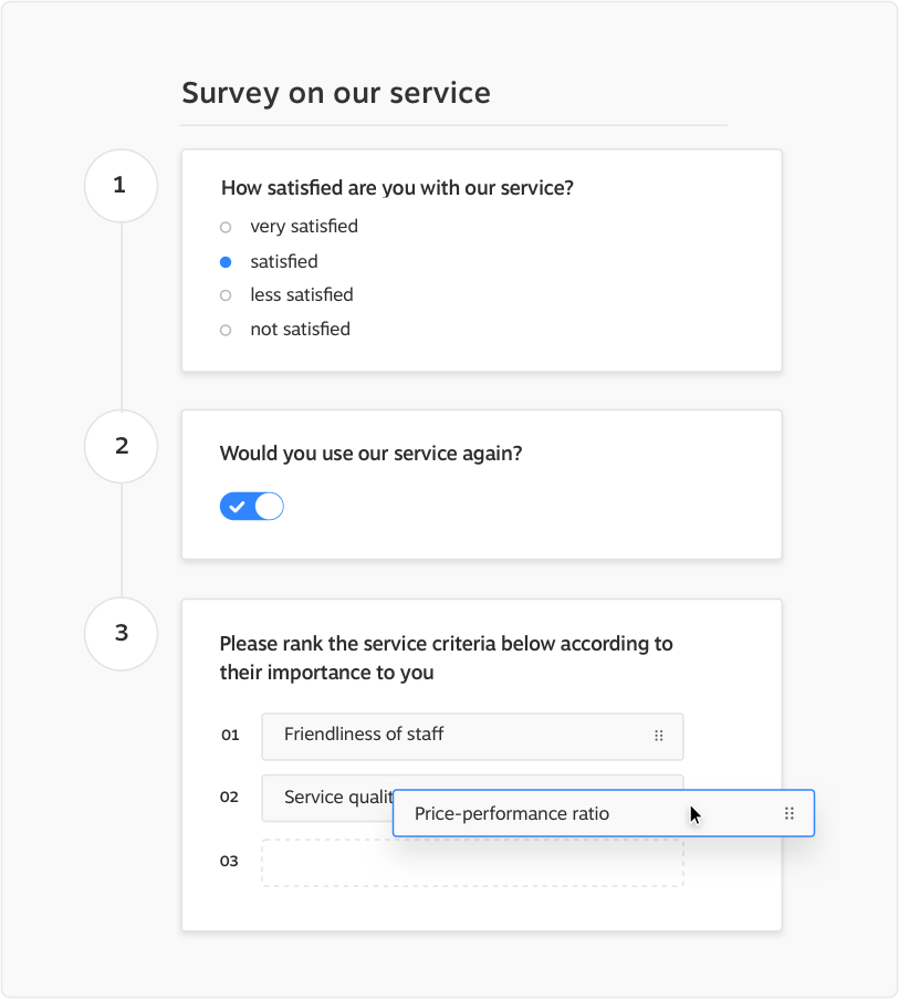 Create Survey KundenMeister Survey Software