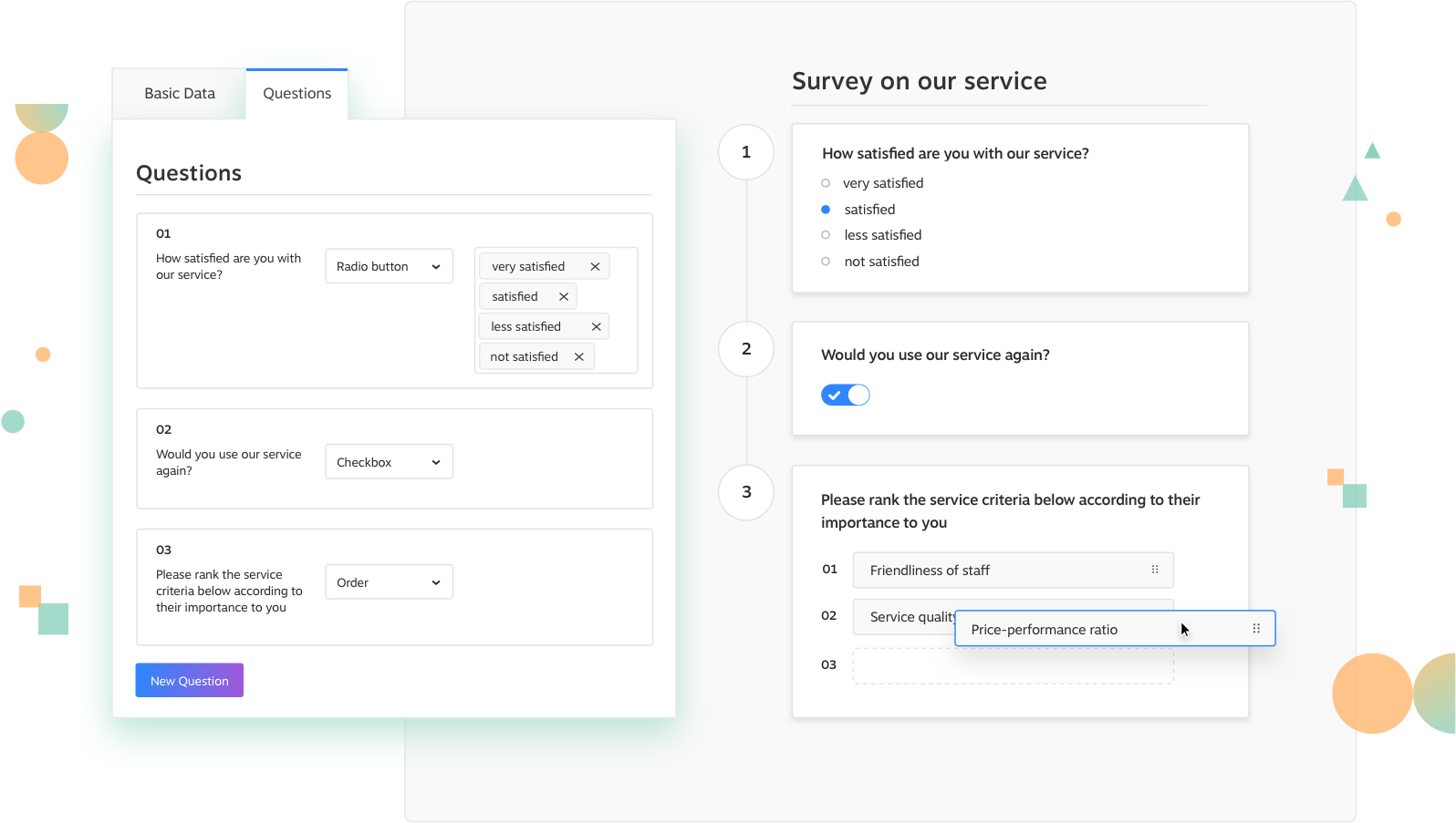 Survey Module KundenMeister CRM