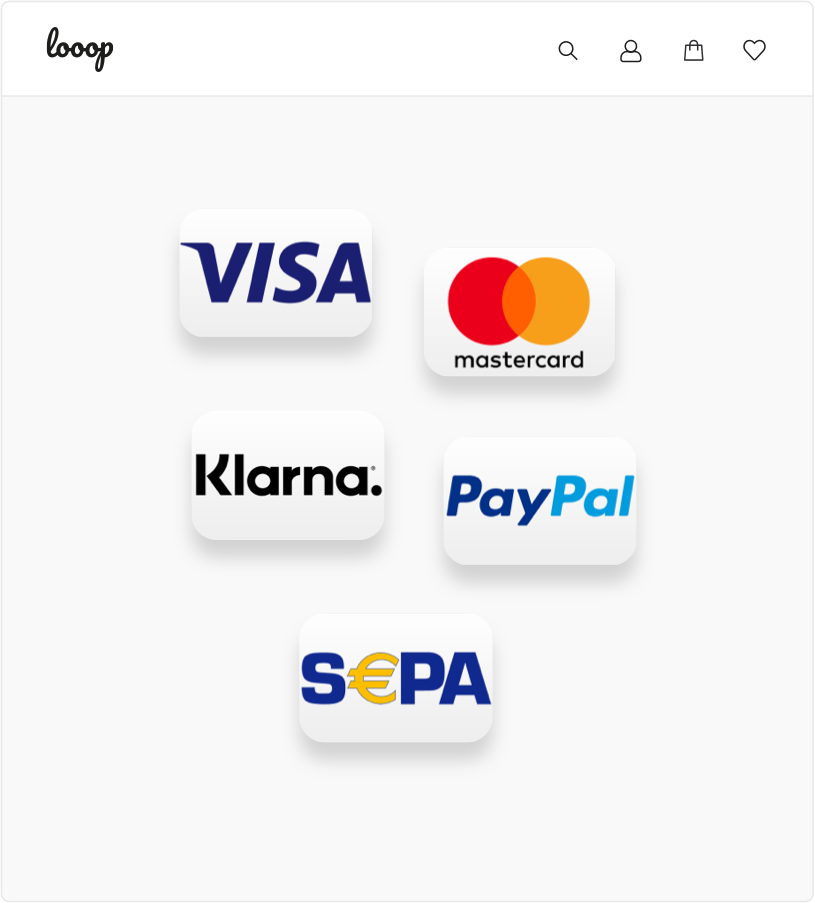 Webshop Payment KundenMeister ERP